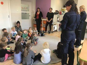 Policja w przedszkolu – czyli lekcja bezpieczeństwa dla dzieci