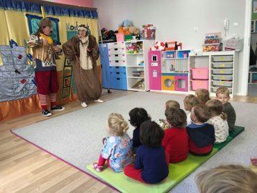 Rozśpiewane przedstawienie o Koziołku Niematołku