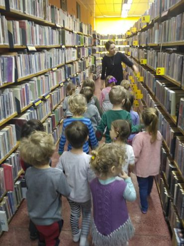 Wycieczka do Biblioteki oraz Warsztaty o Książce
