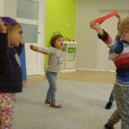 Piątkowe zajęcia sportowe w grupie Bunnies